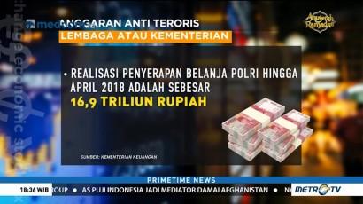 Kemenkeu Belum akan Naikkan Anggaran Penanggulangan Terorisme