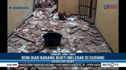 Bom Ikan Meledak di Mapolsek Giligenting Sumenep