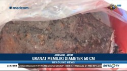 Empat Granat Aktif Ditemukan di Jombang