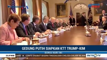 Gedung Putih Terus Siapkan KTT Trump-Kim