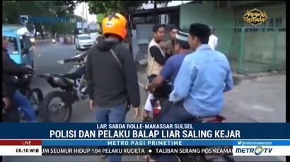 Polisi Razia Balapan Liar di Makassar