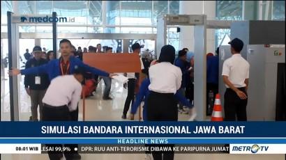 Jelang Mudik Lebaran, Bandara Kertajati Gelar Simulasi Operasional