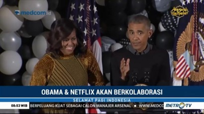 Obama dan Netflix akan Berkolaborasi