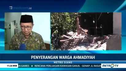 Menag Tanggapi Penyerangan Jemaah Ahmadiyah di Lombok