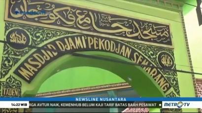 Tradisi Buka Puasa Unik di Masjid Jami Pekojan Semarang