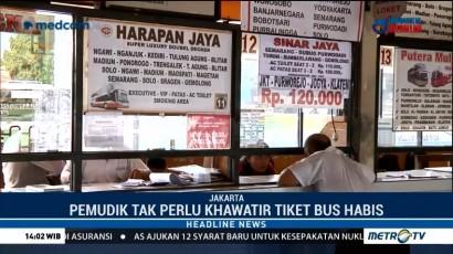 Pembelian Tiket Bus untuk Mudik Bisa Melalui Online