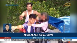 Empat Orang Tewas dalam Kecelakaan Speedboat di Tarakan