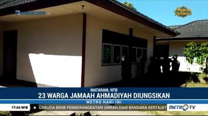 Jemaah Ahmadiyah di NTB yang Diserang Diungsikan