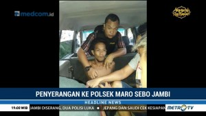 Polsek Maro Sebo Diserang, Dua Polisi Terluka