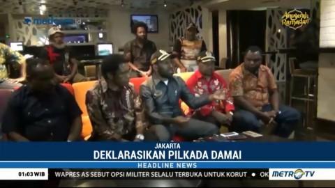 Anggota DPRD Papua & Tokoh Adat Gelar Deklarasi Damai