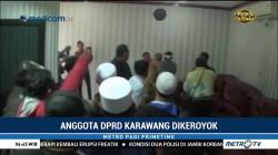 Anggota DPRD Karawang Dikeroyok Massa