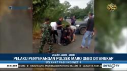 Penyerang Mapolsek Maro Sebo Jambi Ditangkap