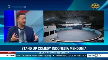 Pandji Pragiwaksono <i>Pede</i> Gelar Tur Dunia Pakai Bahasa Indonesia