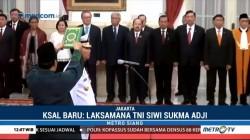 Presiden Lantik KSAL Baru