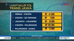 Ini Daftar Tarif Tol Trans Jawa