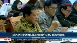 Rapat Pansus RUU Terorisme dengan Pemerintah Berlangsung Alot