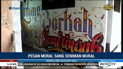Pesan Moral dari Seniman Mural