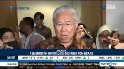 Pemerintah Kembali Impor 500 Ribu Ton Beras