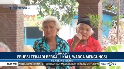 Pengungsi Dusun Kalitengah Lor Mayoritas Lansia dan Anak-Anak