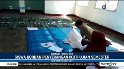 Siswa Ahmadiyah Korban Penyerangan Ikuti Ujian di Pengungsian