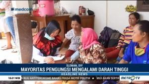 Mayoritas Pengungsi Gunung Merapi Menderita Hipertensi