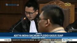 Bacakan Pledoi, Aditya Moha Bocorkan Alasan Menyuap Ketua PT Manado