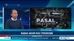 Pelibatan TNI Berantas Teroris Dinilai akan Timbulkan Masalah Baru