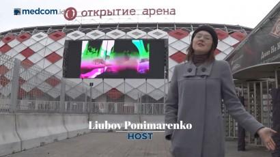 Otkritie Arena Menjadi Stadion Paling Modern di Moskow