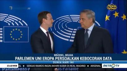Zuckerberg Temui Presiden Parlemen Eropa