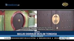Mengunjungi Masjid Bernuansa Oriental  di Kolong Tol Warakas
