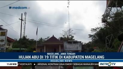 Merapi Erupsi Freatik Lagi, Hujan Abu Landa 19 Titik di Magelang