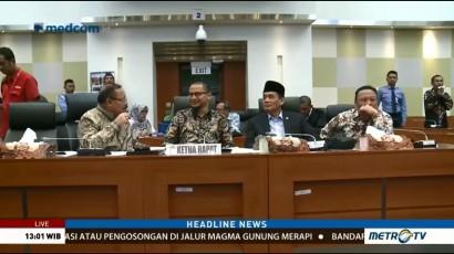 Pemerintah dan DPR Gelar Rapat Sinkronisasi RUU Terorisme