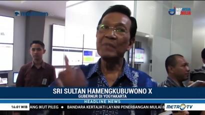 Sultan Hamengkubuwono X Pantau Letusan Gunung Merapi