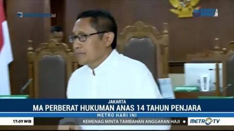 Anas Urbaningrum Jalani Sidang Perdana PK