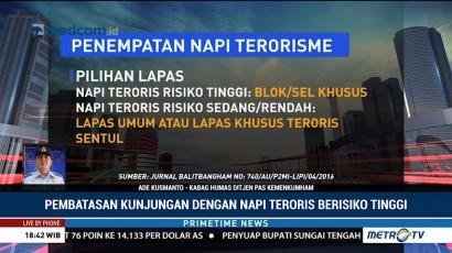 Lapas Teroris akan Dibangun dengan <i>Super Maximum Security</i>