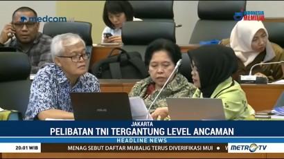 Pelibatan TNI dalam Terorisme Dilihat dari Level Ancaman