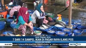 Petugas Temukan Ikan Berformalin Dijual di Kota Takengon