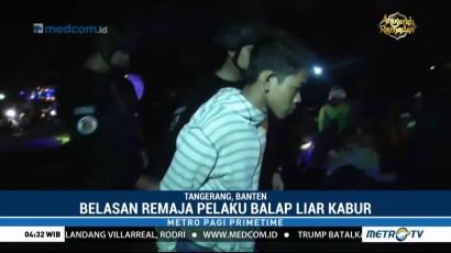 15 Remaja Pelaku Balap Liar Terjaring Razia di Tangerang