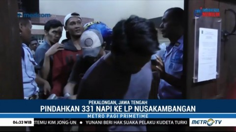 Lapas Pekalongan Terendam Banjir, 331 Napi Dievakuasi ke Nusakambangan