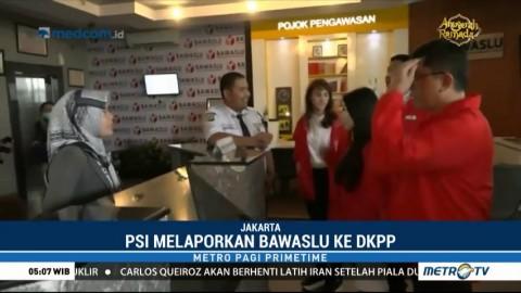 PSI Laporkan Bawaslu ke DKPP