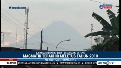 Gunung Merapi Tunjukkan Tanda Erupsi Magmatik