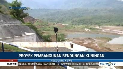 Jokowi akan Tinjau Proyek Pembangunan Bendungan Kuningan