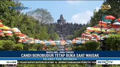 Waisak, Borobudur Tetap Buka untuk Wisatawan