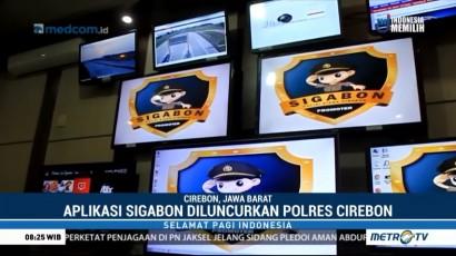 Polres Cirebon Luncurkan Aplikasi Sigabon