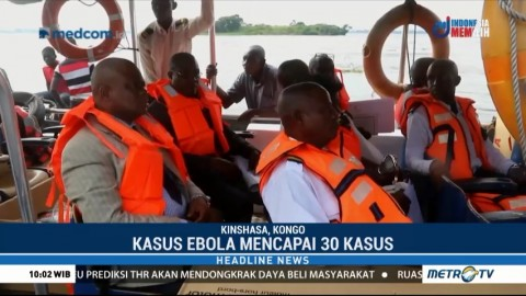 Antisipasi Penyebaran Ebola, Pemerintah Kongo Periksa Kesehatan Pendatang