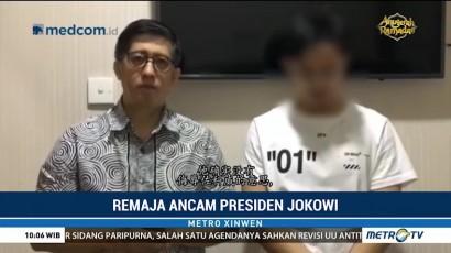 Remaja Pengancam Presiden Minta Maaf