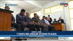 Tak Netral, 7 Kades di Kerinci Dituntut Tiga Bulan Penjara