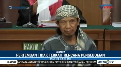 Bacakan Pledoi, Aman Abdurrahman Bantah Terlibat Bom Thamrin