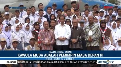 Jokowi Dekati Kawula Muda