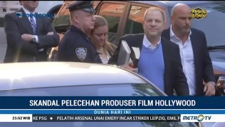 Terjerat Skandal Pelecehan Seksual, Harvey Weinstein Menyerahkan